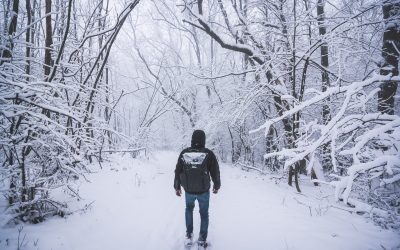 První sníh na Jižní Moravě