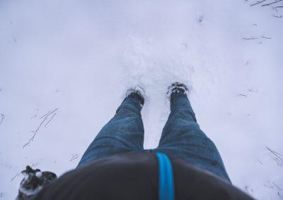 Sněhu je čím dál víc