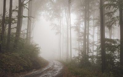Račí údolí vpodzimním čase